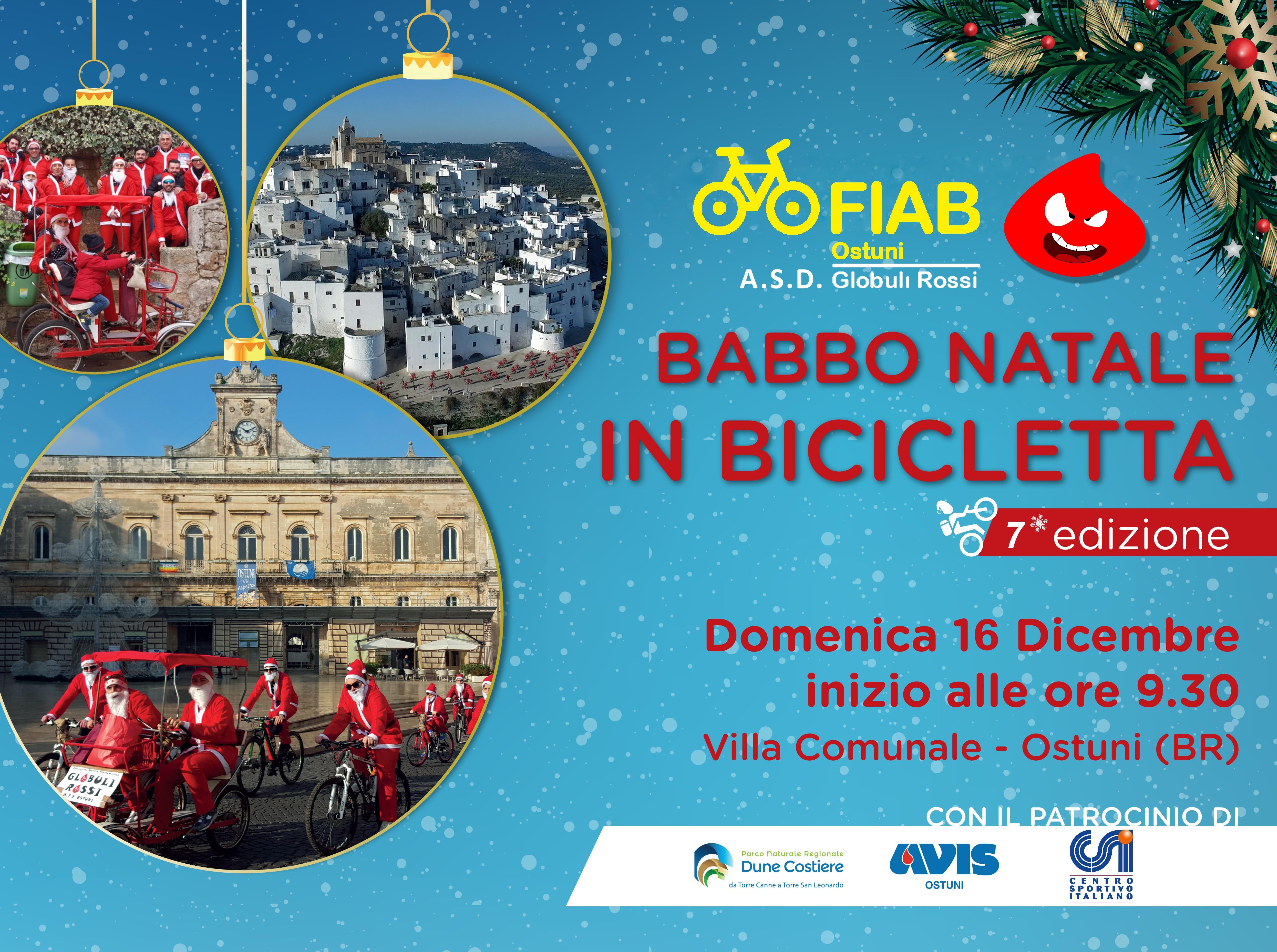 Babbo Natale in Bicicletta Ostuni, 7° edizione